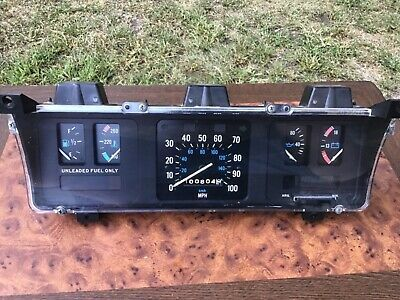 Sponsored Ebay Oem Dash Instrument Gauge Cluster 86 91 Jeep
