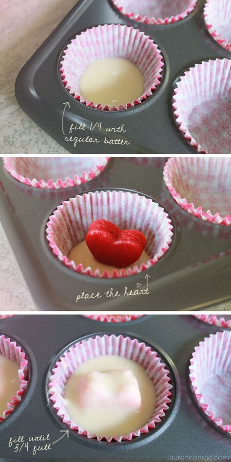 How To: Valentine's Day Cupcakes