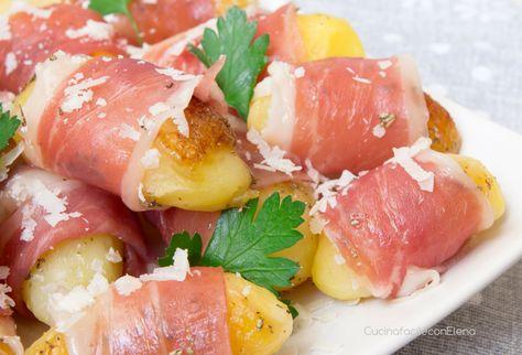 I Bocconcini di patate con prosciutto crudo sono un piatto facile e sfizioso, perfetto da servire come antipasto o secondo, uno tira l'altro, sono deliziosi