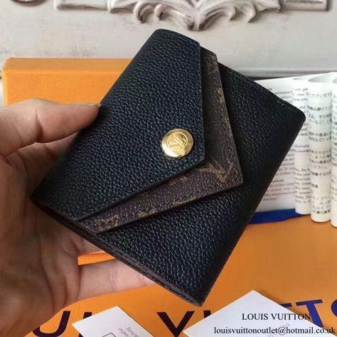 49c3687ce116 Louis Vuitton Double V Compact Wallet M64420 Taurillon Leather ...
