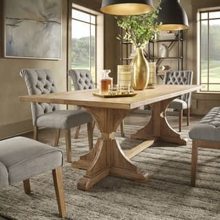 Buy Kitchen Dining Room Tables Online At Overstock Our Best Dining Room Bar Furniture De In 2020 Dining Table Trestle Dining Tables Traditional Dining Room Table