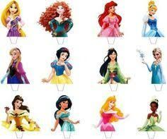 photo about Disney Princess Cupcake Toppers Free Printable called Resultado de imagen de disney princess cupcake toppers absolutely free