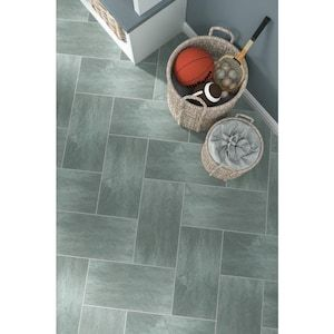 Style Selections 12 In X 24 In Groutable Symphony Gray Peel And Stick Luxury Vinyl Tile Lowes Com Luxury Vinyl Tile Vinyl Tile Luxury Vinyl