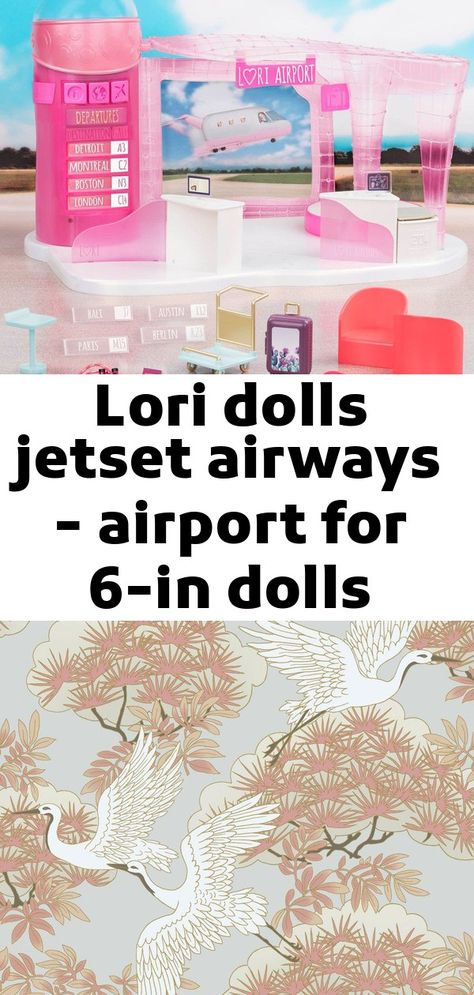 Lori dolls jetset airways - airport for 6-in dolls