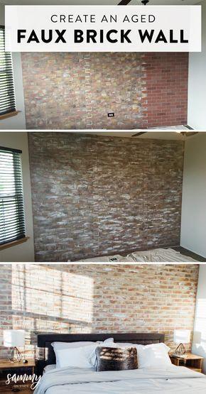 50+ Faux brick wall in kitchen ideas