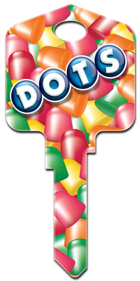 Tootsie Roll Dots Licensed House Key Tootsie Roll House Keys
