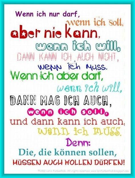 #wollen #mssen #knnen #drfen #von #undvon wollen und müssen können dürfen ;-)von wollen und müssen können dürfen ;-)