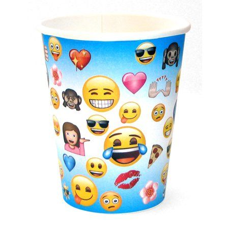 Party Occasions With Images Emoji Party Favor Cups Emoji