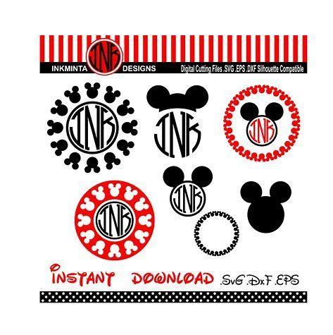 Image Result For Free Disney Downloads For Cricut Svg Mickey Mouse Monogram Diy Disney Shirts Cricut