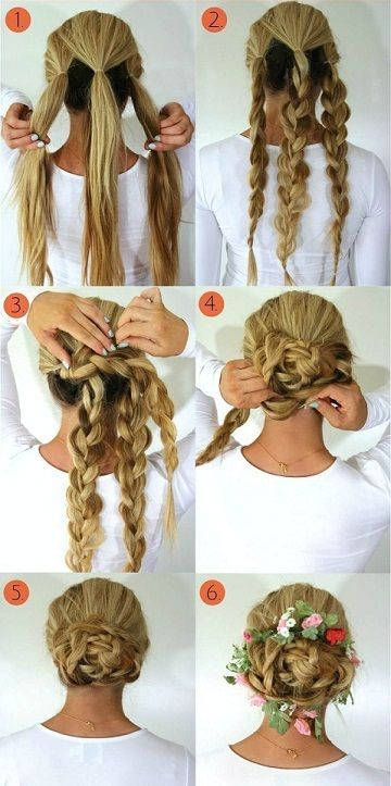 Top 9 Braided Bun Hairstyles For Long And Short Hair Hair Bun Tutorial Braided Hairstyles Braided Bun Hairstyles