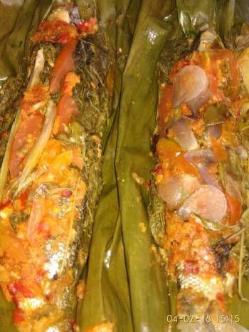 Pepes Bandeng Presto Daun Singkong Resep Ikan Resep Masakan Resep