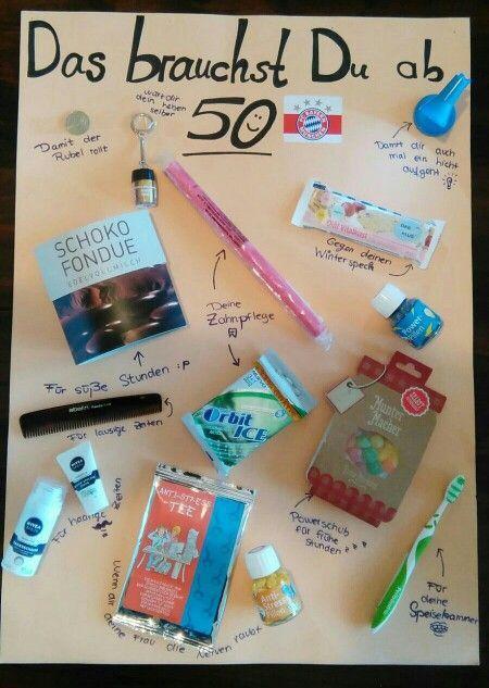 Geschenkideen Runder Geburtstag Fresh Geburtstags Geschenkt Zum 50