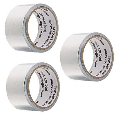 Sponsored Ebay 2 Inch X 30 Feet Reflective Foil Tape Seams And Ends Of Foil Insulation 3 Pack In 2020 Foil Insulation Ebay Foil Tape