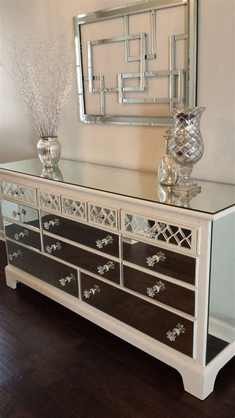 Bedroom Furniture Dressers With Mirror Diy Mirrored Furniture