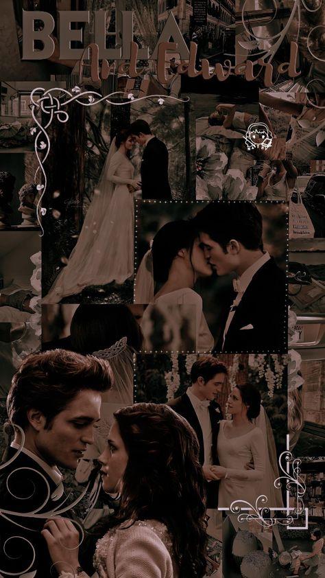 Edit wallpaper lockscreen Bella e Edward da saga Crepúsculo