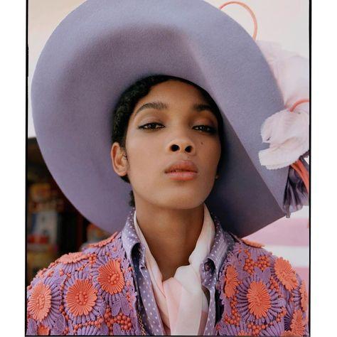 "nadine ijewere on Instagram: ""In Mexico for @garage_magazine  with @gabriellak_j  Hair: @edwardlampley Makeup: @gracegraceahn Casting: @nicola.kast"""