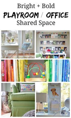 Our Shared Space A Playroom Office Combo