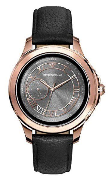 armani smartwatch gold