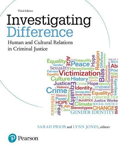 Download Pdf Investigating Difference Human And Cultural Relations In Criminal Justice 3rd Edition Free Epub Mobi Ebooks In 2020 Criminal Justice Relatable Ebook