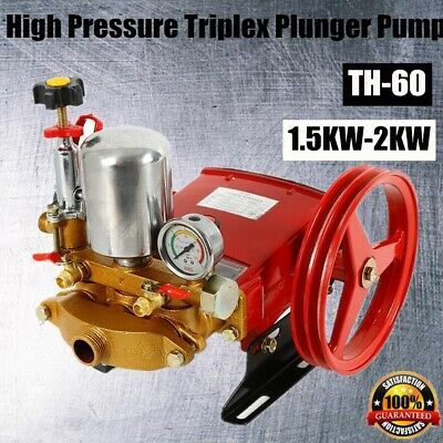 Details About 60 Type Sprayer Pumps Triplex Plunger Pressure Agricultural Washer Pump Motor In 2020 With Images Plunger