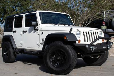 2008 Jeep Wrangler Unlimited X Stone White 2008 Jeep Wrangler 2008 Jeep Wrangler Unlimited Jeep