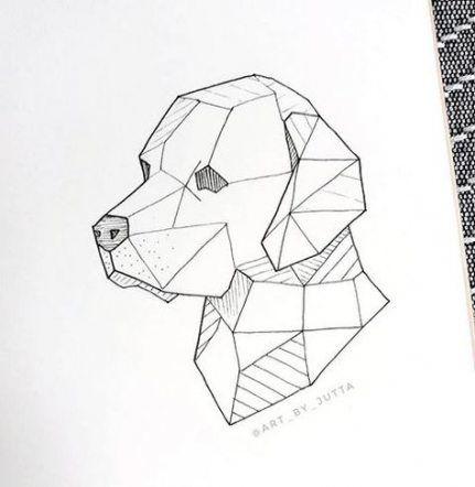 Trendy Tattoo Dog Geometric Animals 34 Ideas Tattoo