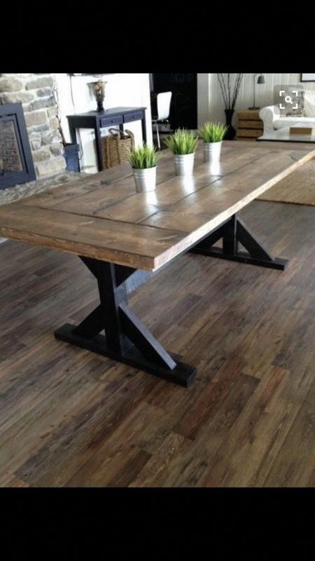 Custom Farm Table For Sale In Tempe Az Offerup Double Pedestal Dining Table Farmhouse Dining Table Farmhouse Dining
