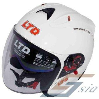 Price Ltd Infinity Ram Double Visor Helmet White Order In Good Conditions Ltd Infinity Ram Double Visor Helmet Whit Motorcycle Riding Gear Riding Gear Helmet