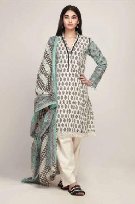 Khaadi Spring Vol 2 Original Pakistani Lawn Printed Suit AR19129A