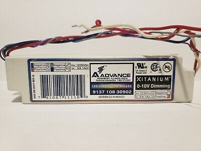 Sponsored Ebay Philips Advance 9137 108 30902 Led Dimming Controller 0 10v Dimming In 2020 Led Dimmer Led Led Drivers