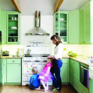 24 inspiring small homes   Big kitchen   Sunset.com