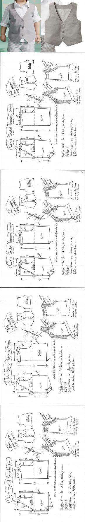 04cb90ebbfbb03 List of Pinterest marlene mukai costura infantil images & marlene ...
