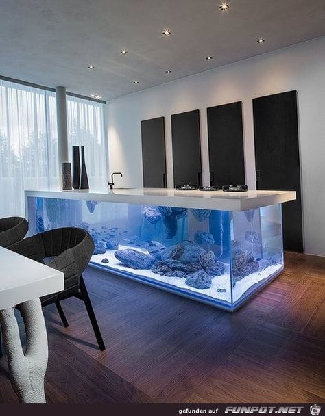 Die besten 25+ Aquarien in der Architektur Ideen auf Pinterest - weiße fliesen wohnzimmer