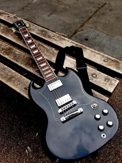 Gibson SG , Ex Gary Moore Owned , Used NA Black | Reverb