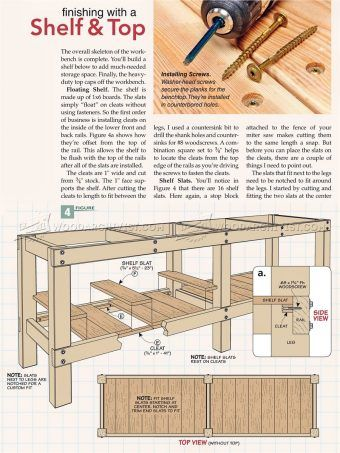 Amazing 2381 Heavy Duty Workbench Plans Workshop Solutions Cjindustries Chair Design For Home Cjindustriesco