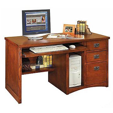 Mission Pasadena Computer Desk Martin Furniture Office Desk Decor Computer Armoire