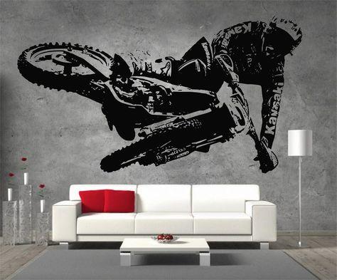 Triumph Tiger Explorer Vinyl Sticker Wall Art Boys Bedroom Garage