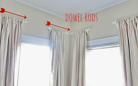 50 short curtain rods ideas short