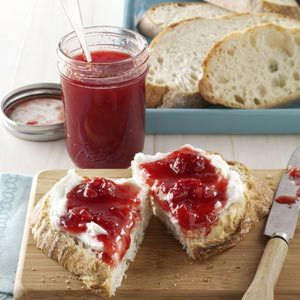 Over-the-Top Cherry Jam Recipe from Taste of Home -- shared by Karen Haen of Sturgeon Bay, Wisconsin