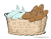 Jesus Feeds 5000 Bible Craft