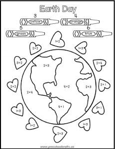 Free Printable Earth Day Worksheets for Kids - Preschool and ...