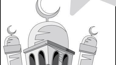 خير الأعمال في رمضان أوراق تلوين Ramadan Symbols Decor