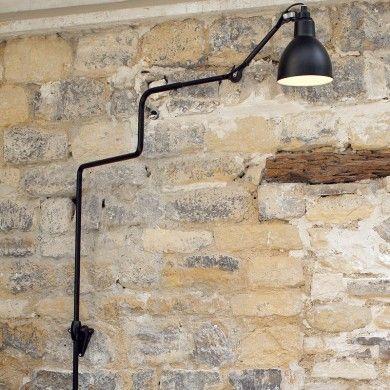 Sehr Grosse Gelenkarm Wandleuchte Mit Wandschiene N 214 Xl Casa Lumi Wandleuchte Wandlampe Wandschiene
