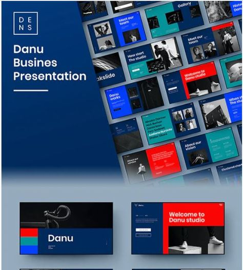 Danu – Business PowerPoint Template