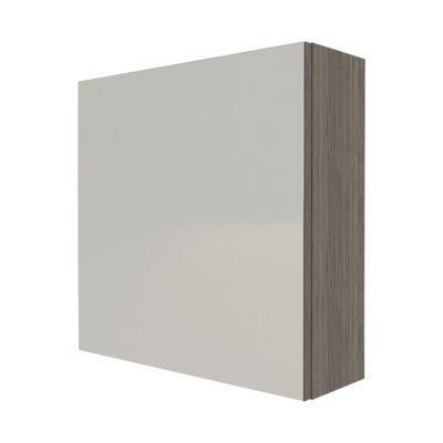 Cube Mural De Salle De Bains Porte Miroir Decor Chene Fume Cooke Lewis Calao 50 Cm En 2020 Cube Mural Parement Mural Et Porte Miroir