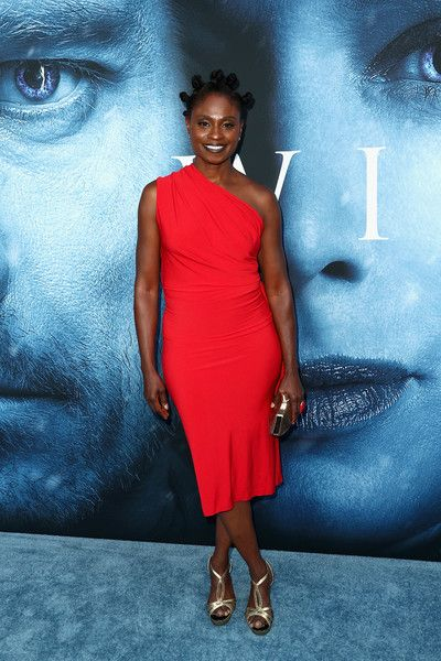 Actor Adina Porter attends the premiere of HBO's 'Game of Thrones.'