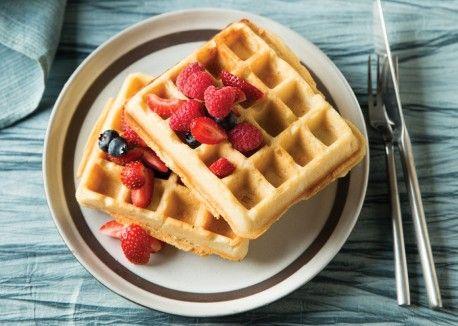 Brown Rice Waffles | Vegetarian Times