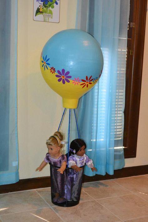 American Girl Doll Play: Reader Spotlight - Handmade Hot Air Balloon for Saige!