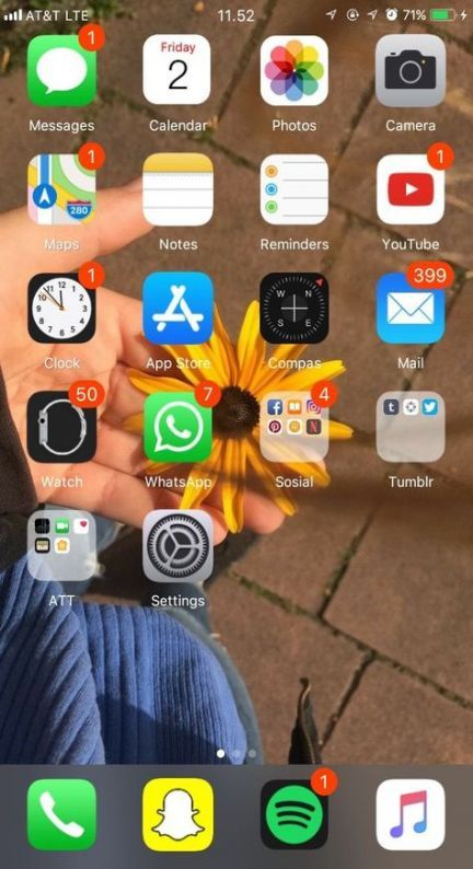 53 Trendy Ideas Home Screen Iphone 8 Plus Wallpaper Iphone App Layout Homescreen Iphone Iphone Apps