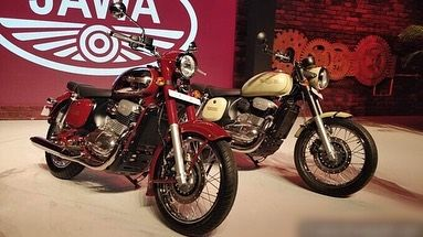 Jawa 300cc Bike To Use Mojo Engine Platform Bike Yellow